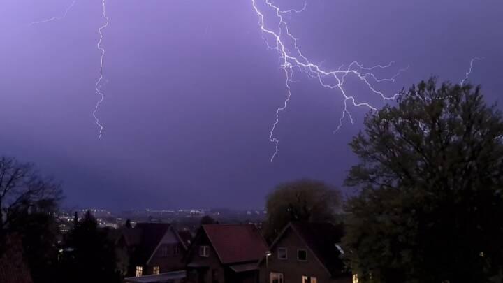 Sikke et uvejr: Er det skybrudsæson?
