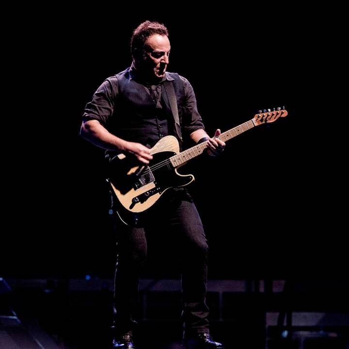Bruce Springsteen 1:5 - The Boss in person