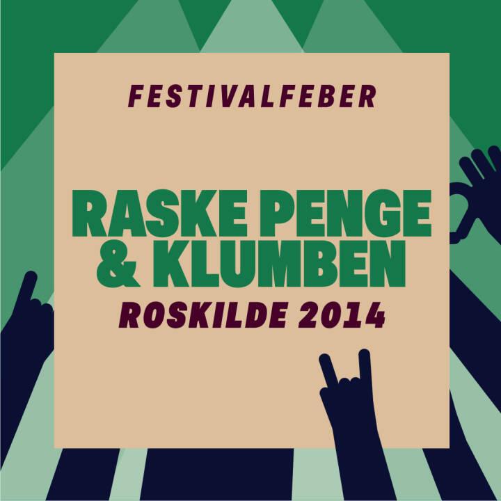 Raske Penge & Klumben, Roskilde 2014