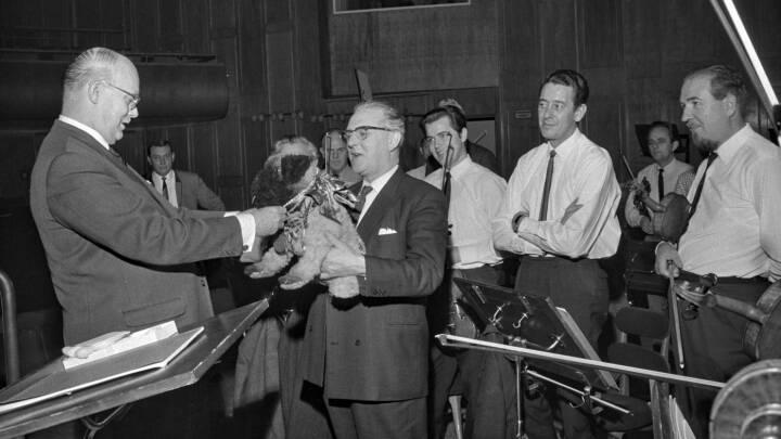 Symfoniorkestrets bedste ven: Få historien om tøjhunden Peddersen