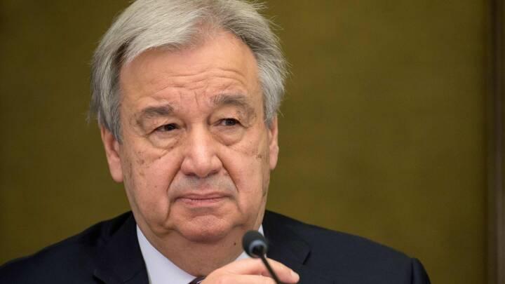 FN's Sikkerhedsråd anbefaler genvalg af 72-årig generalsekretær