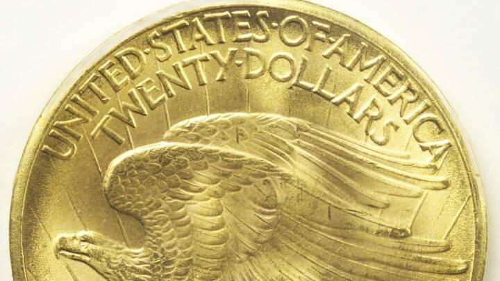 Dyreste mønt nogensinde: Sagnomspunden amerikansk guldmønt solgt for 115 millioner kroner på auktion