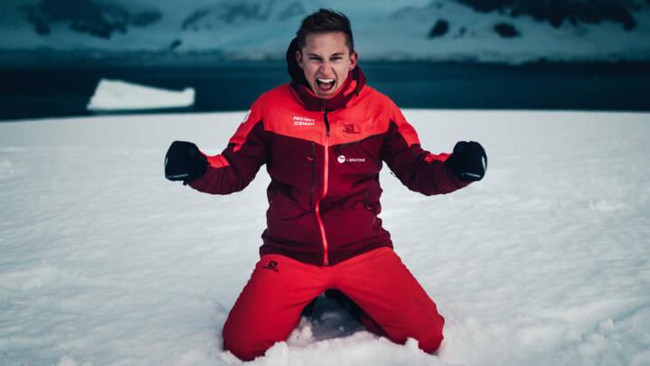 Anders gennemførte ironman på Antarktis for at gøre op med fortiden: 'Ingen troede på mig'