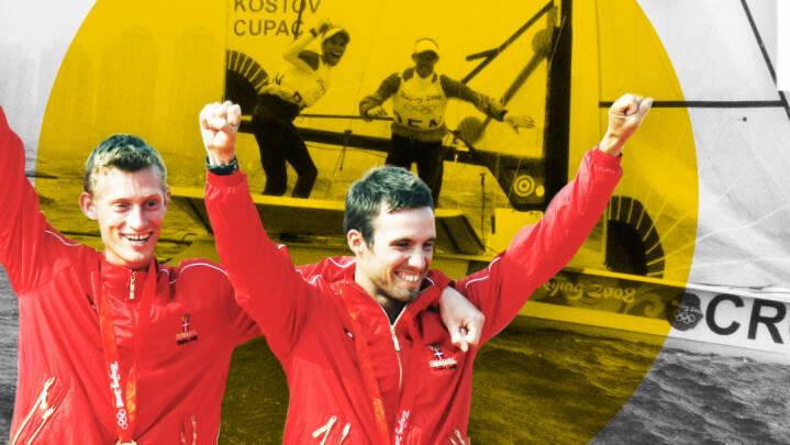 De var på vej mod OL-guld, da en knækket mast startede legendarisk drama