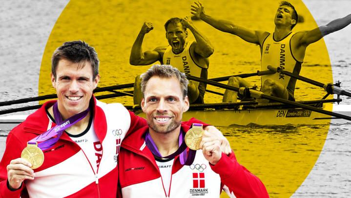 De var benhårde konkurrenter, men endte med OL-guld og et venskab for livet