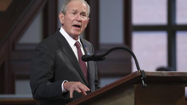 USA tager afsked med John Lewis: Clinton, Bush og Obama takker 'Kongressens samvittighed'