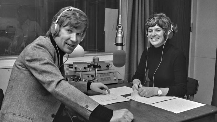 Pia og Peter var den klassiske musiks discjockeyer i 1970'erne
