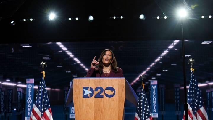 Harris stjal fokus på konvent: 'Der er ingen vaccine mod racisme'
