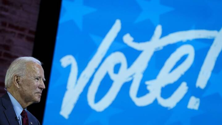 Forside test: Hvem vinder det amerikanske valg? Følg med her