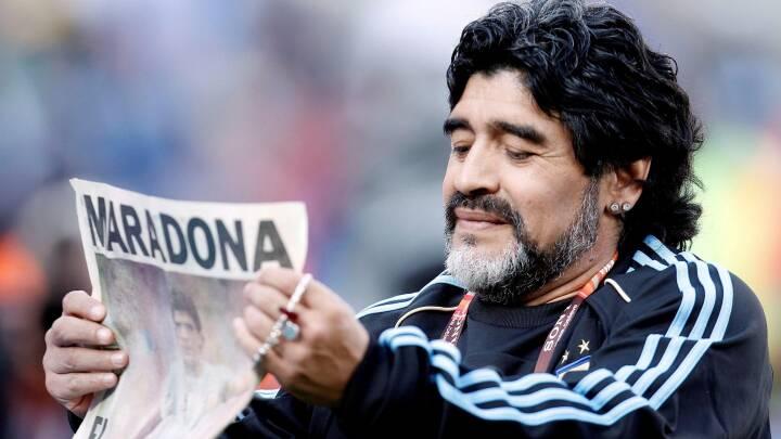 Maradonas nekrolog blev skrevet første gang for 16 år siden: De mørke sider viste, at 'han var et helt menneske'
