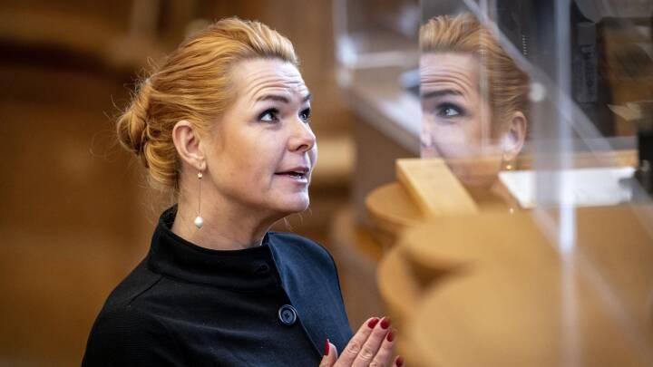 Dommerforening afviser Inger Støjbergs forslag om live-tv fra rigsretssag: 'Det er ikke et tv-show, det her'