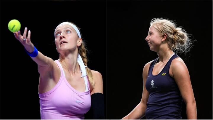 Ikke meget Wozzy over 'den nye Wozniacki': Tauson spejler sig i hårdtslående Wimbledon-vinder