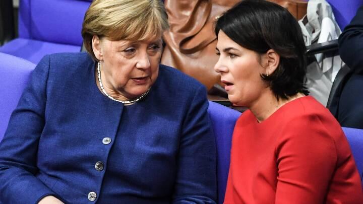 Miljøparti vil overtage kanslerposten efter Merkel: Grøn kandidat kan give de store partier kamp til stregen