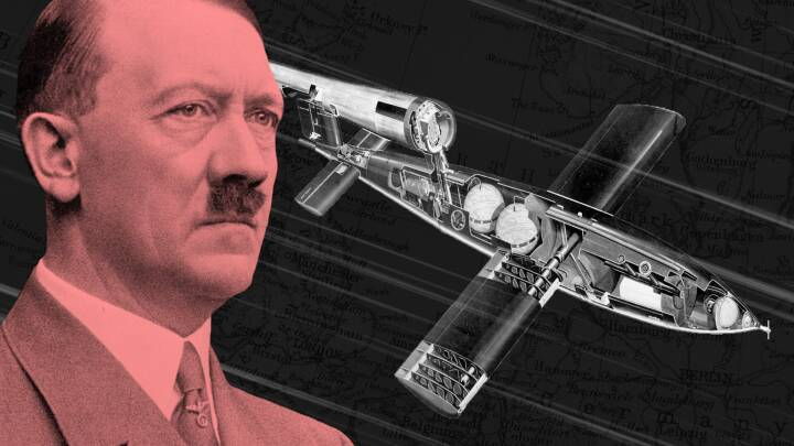 Hitlers hemmelige raket kunne navigere af sig selv, før GPS'en blev opfundet
