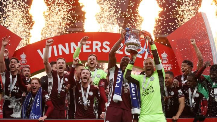 Schmeichel-mirakler, drømmemål og VAR-drama i Leicesters store FA Cup-triumf