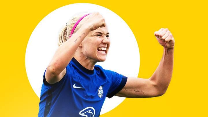 Harder-hypen er nået til fodboldens hjemland: 'Hun har været en kæmpe gevinst for engelsk fodbold'