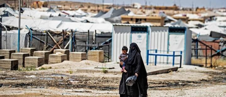Regeringen vil hente tre kvinder og deres 14 børn ud af Syrien