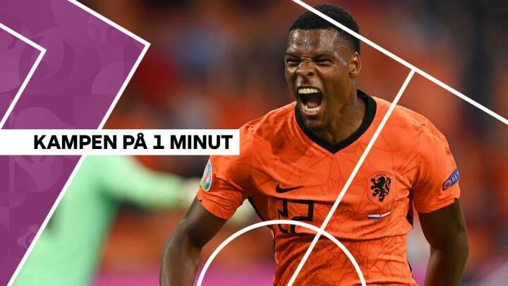 Holland tryner tamt østrigsk landshold: De orange vinder sikkert
