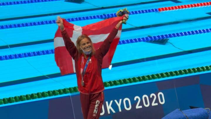Vilde Blume svømmer bronze til Danmark: Se finalen her