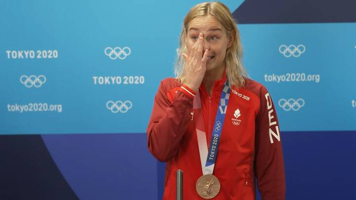 Medaljemagneten Blume kunne ikke holde tårerne tilbage: 'Der sker bare et eller andet i kroppen'