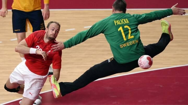 På en gylden dansk OL-dag leverede håndboldherrerne en metaltræt indsats mod Sverige