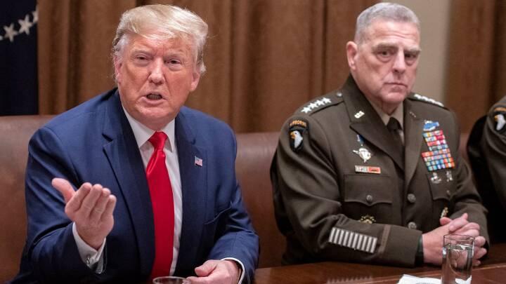 Ny bog hævder, at Trumps topgeneral tog hemmelige skridt for at begrænse præsidentens militære muligheder