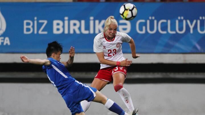 KARAKTERER 'En af hendes allerbedste kampe på landsholdet'