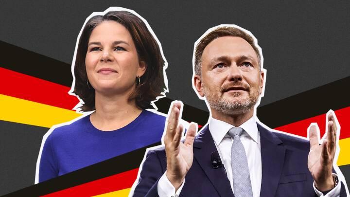 De to mest ombejlede i tysk politik lige nu: Sammen kan de afgøre, hvem der bliver kansler