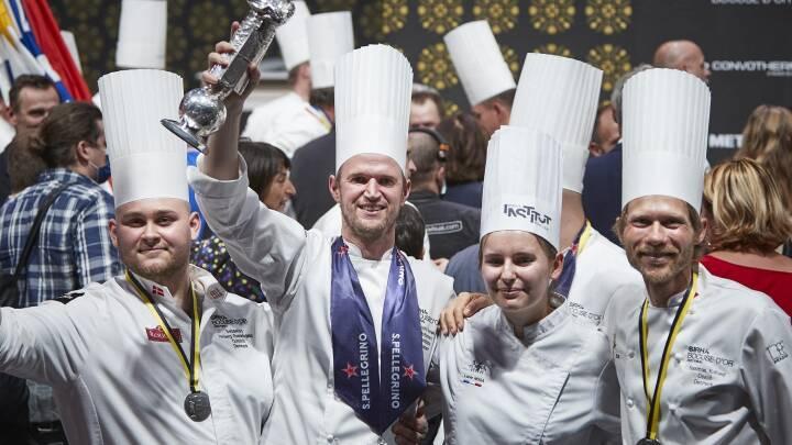 Improviseret takeaway-menu sikrer dansker sølv ved kokke-VM