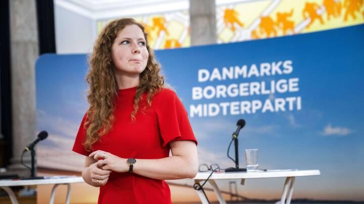 Isabella Arendt taler ved Kristendemokraternes landsmøde