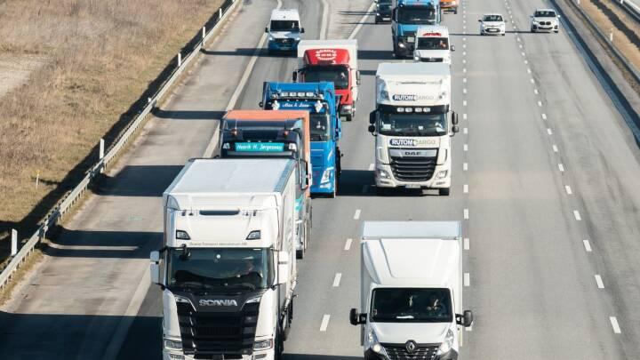 Trods brug af inkassofirma 'fortsætter skandalen': Blot én ud ti udenlandske chauffører har betalt