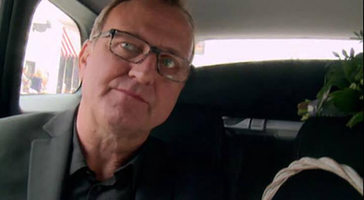 Frank i taxaen