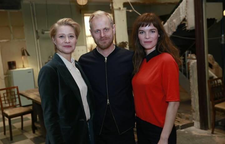 Trine Dyrholm, Carsten Bjørnlund og Marie Bach Hansen