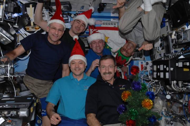 Glædelig jul fra ISS