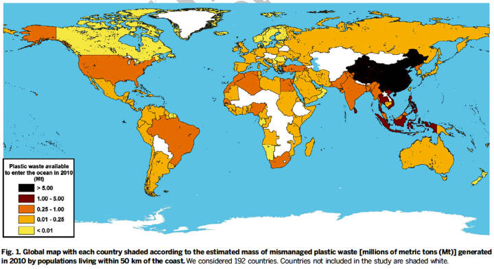 Plastforurening i verdenshavene