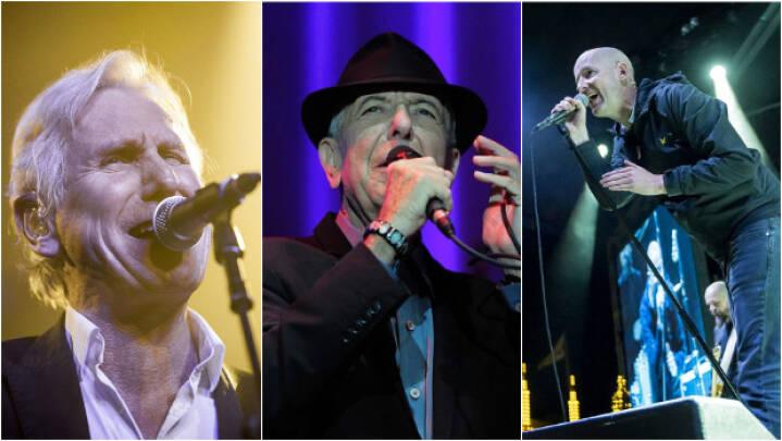 Store danske sangere hylder Leonard Cohen med særkoncert