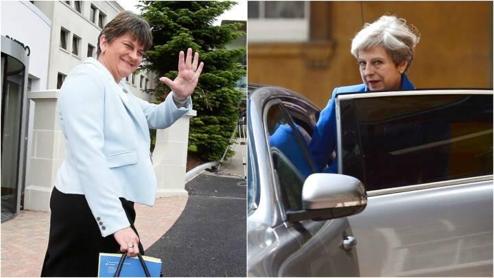 Endnu ingen aftale: Nordirsk partileder skal mødes med May i Downing Street