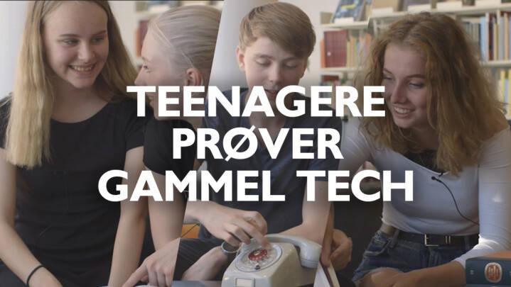 Teenagere prøver gammel tech: Skal finde vej med KRAK