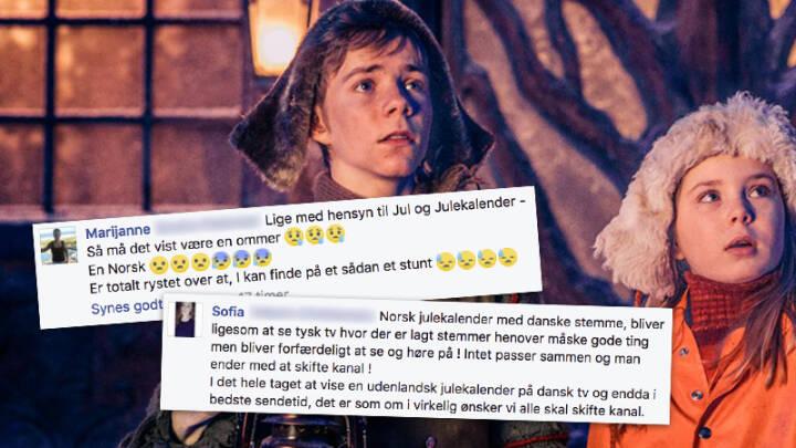 Efter Kritik Pa Facebook Derfor Har Dr1 Kobt En Norsk Julekalender Film Og Serier Dr