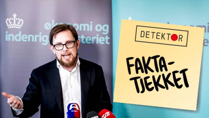 Faktatjek: Minister erkender fejl om gamle danske biler