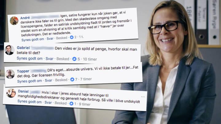 Undskyld-joke deler brugerne på Facebook: Nu svarer DR-chef på kritikken