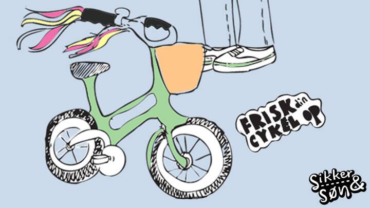 Frisk cyklen op