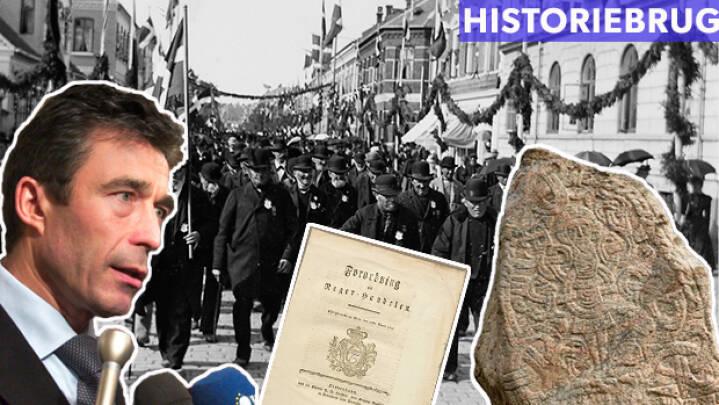 Historiebrug gennem tiden