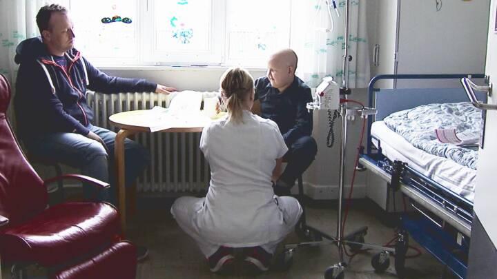 Forældre til kræftramte børn: Ville være umuligt at klare det som enlig forælder