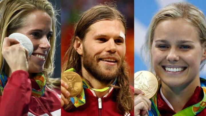 VIDEO-OVERBLIK Danmark fik 15 medaljer til OL