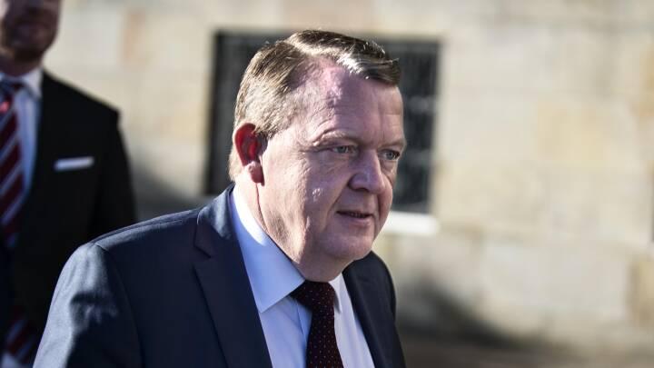Løkke beklager at FN-kritik af smykkelov blev skjult