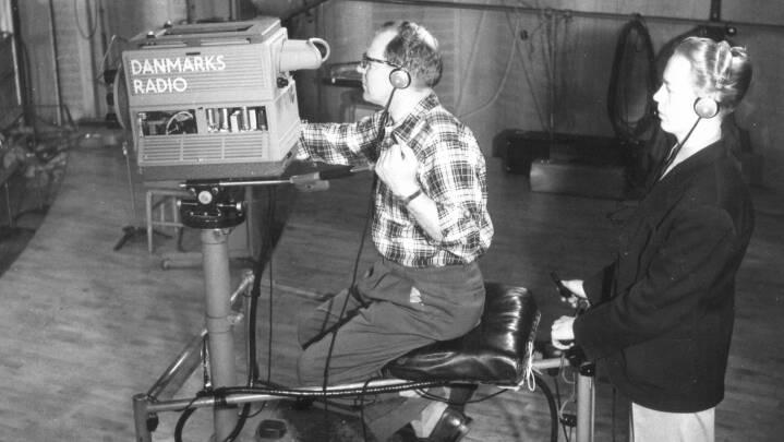 1951-1962: Premiere på første tv-program, på Melodi Grand Prix og børneprogrammer