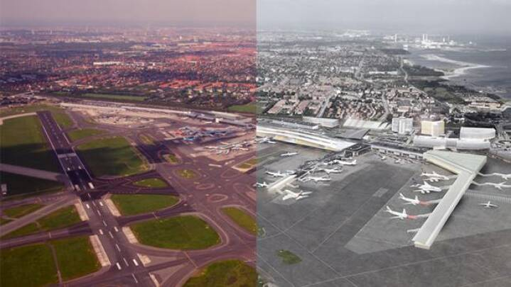 Jysk jubel over planer om større lufthavn i København