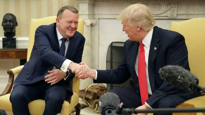 Kretz: Kemien mellem Løkke og Trump var god