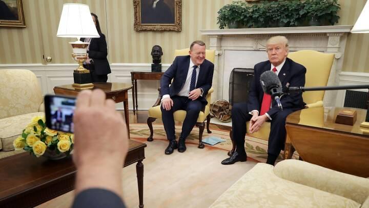 Trump: Løkke arbejder på at få flere penge til Forsvaret